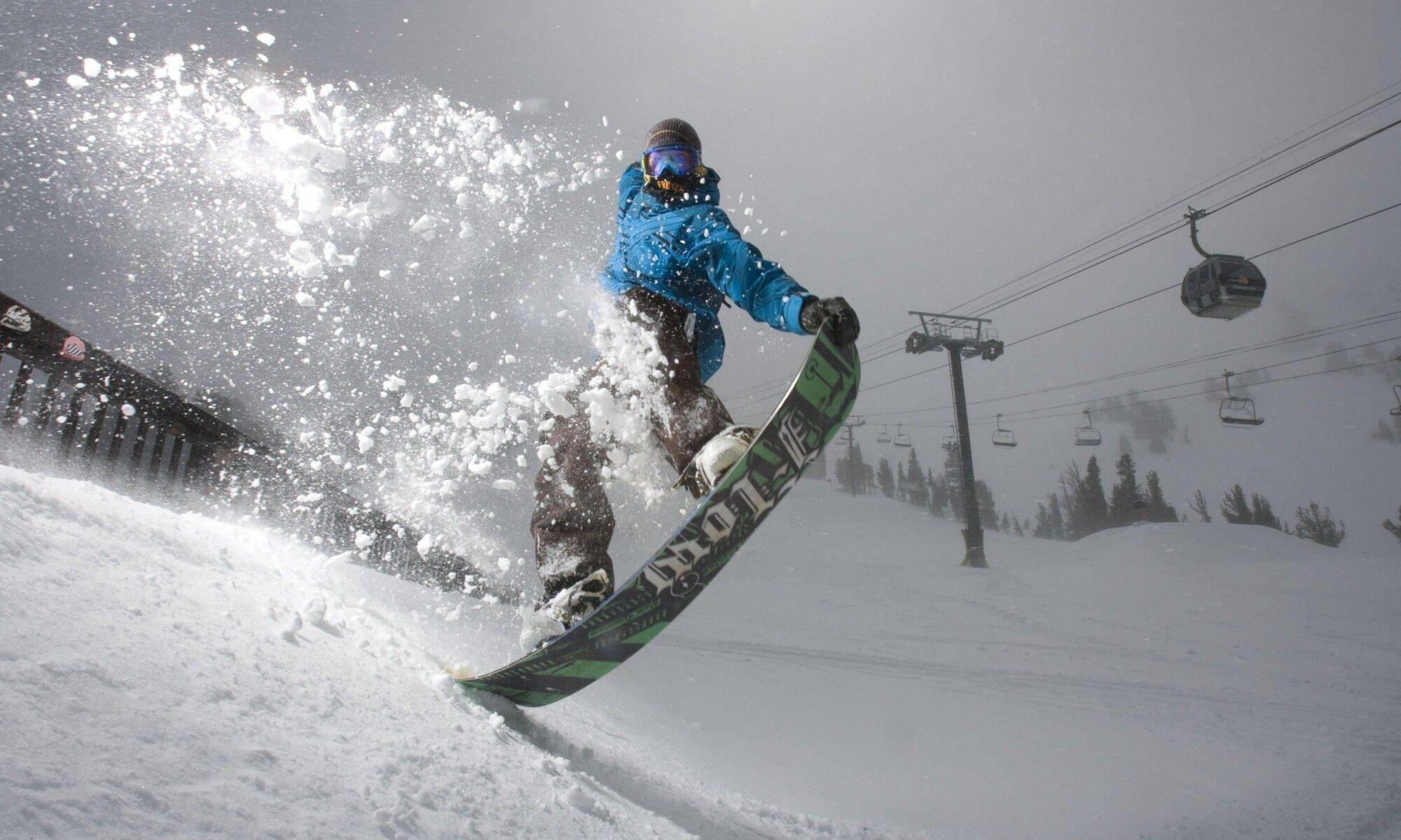 ремонт сноубордов, горных лыж, вейкбордов